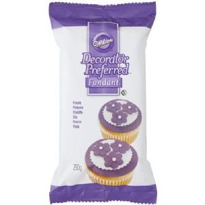 Wilton Decorator Preferred Fondant Purple 250g